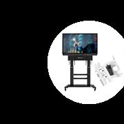 Комплект интерактивного оборудования для конференц зала на основе 75 дюймовой панели