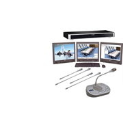Проводная конференц система Bosch с функцией голосования на 10 абонентов