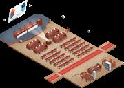 Проектирование конференц-залов