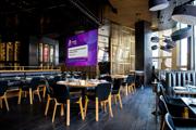 Интерьерный экран 3х4 м для кафе и баров