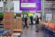 Информационный светодиодный экран 2 х 3,5 м для цехов, производства и складов