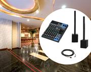 Мобильный комплект звука для мероприятий в зонах отеля