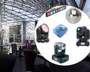Комплект световых эффектов для ресторана в отеле на 100 мест