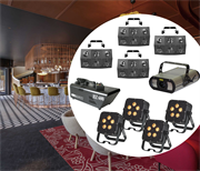 Минимальный комплект световых спецэффектов для ресторана в гостинице