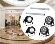 Бюджетный комплект света для гостиницы