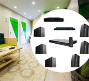 Комплект  фонового звука на корпусной акустике для гостиниц и отелей