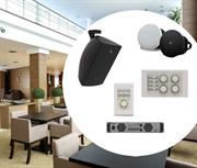 Комплект звукового оборудования на базе бренда Yamaha* для лобби отеля