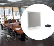Комплект «Большая переговорная» рассчитан на проведение AV -конференций в переговорных комнатах больших размеров, до десяти человек.